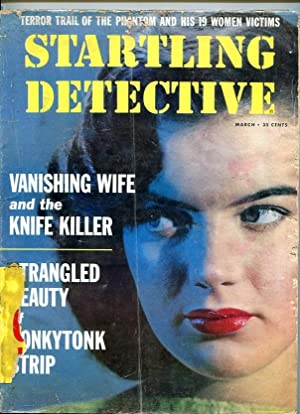 STARTLING DETECTIVE-03/1959-PHANTOM-KNIFE KILLER-STRANGLED-CORPSE-COP KILLERS VG