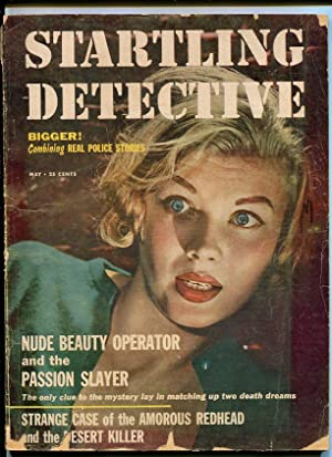 STARTLING DETECTIVE-1956-MAY-GOOD GIRL ART ON COVER G