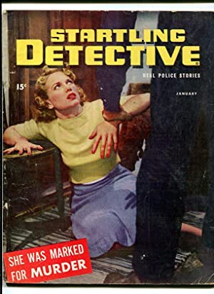 STARTLING DETECTIVE-1947-JAN-STRANGULATION ON COVER G