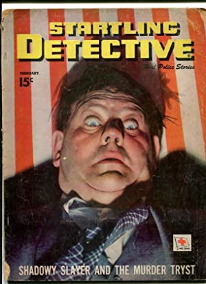STARTLING DETECTIVE-1948-FEB-TERRIFIED MAN ON COVER G