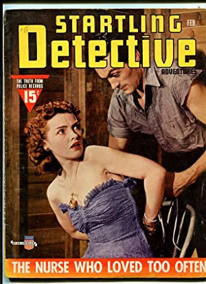 STARTLING DETECTIVE-1941-FEBRAUARY-BOUNDED WOMAN COVER G