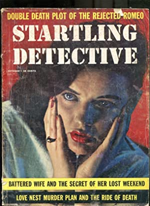 STARTLING DETECTIVE-1958-OCTOBER-GOOD GIRL ART COVER VG
