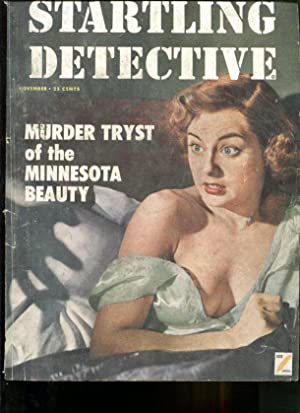 STARTLING DETECTIVE-1952-NOVEMBER-GOOD GIRL ART COVER VG