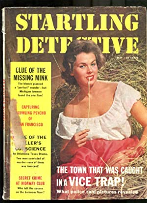 STARTLING DETECTIVE-1961-MAY-GOOD GIRL ART COVER G/VG