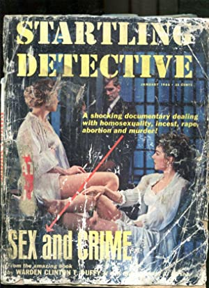 STARTLING DETECTIVE-1966-JANUARY-GOOD GIRL ART COVER FR
