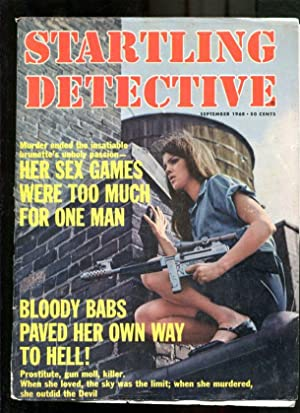 STARTLING DETECTIVE-1968-SEPTEMBER-GOOD GIRL ART COVER G/VG
