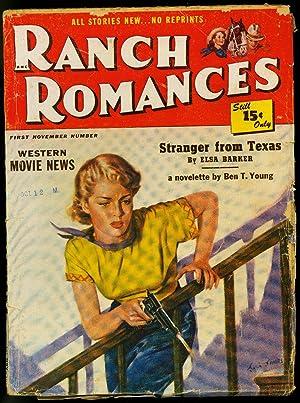RANCH ROMANCES NOV 1950 OLD FRONTIER MONTE HALE B-WEST VG