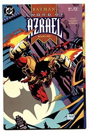 Batman Sword of Azrael #1-1992-First appearance comic