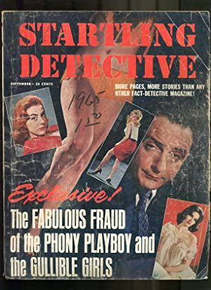 STARTLING DETECTIVE-1965-SEPTEMBER-GOOD GIRL ART CVR G