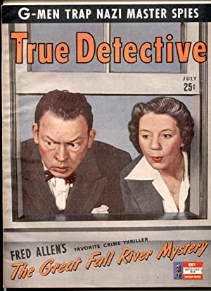 TRUE DETECTIVE JUL 1942-VF-FRED ALLEN-NAZI SPIES-PULP-MAGAZINE VF