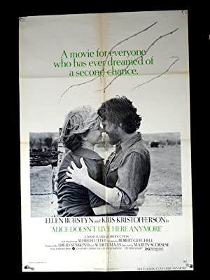 ALICE DOESN'T LIVE HERE ANYMORE-1975-VG -ONE SHEET-DRAMA-ROMANCE-BURSTYN-L VG
