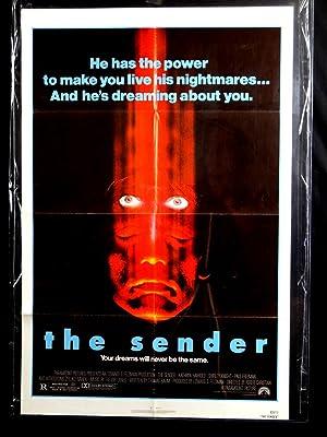 THE SENDER-ONE SHEET-1982-VG-KATHRYN HARROLD-SHIRLEY KNIGHT-PAUL FREEMAN G