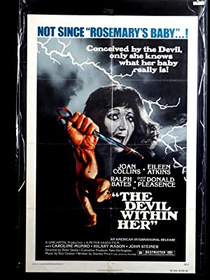 DEVIL WITHIN HER-1976-POSTER-JOAN COLLINS-RALPH BATES-HORROR-INDEPENDENT FILM FN