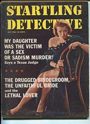 STARTLING DETECTIVE-06/1966-MY DAUGHTER WAS THE VICTIM-SADISM MURDER VG