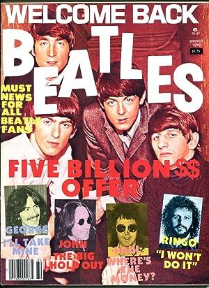 Welcome Back Beatles-winter 1978-photos-info-low print run-FN