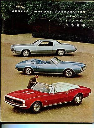General Motors Corporation Annual Report 1966-Camaro-Cadillac-financial-VF