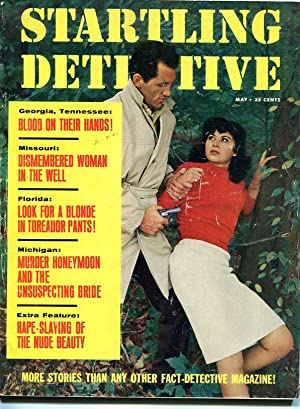 STARTLING DETECTIVES-MAY-1965-GGA COVER VG