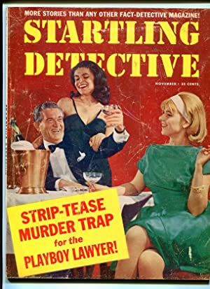 STARTLING DETECTIVE-1964-NOVEMBER-SPICY COVER G/VG