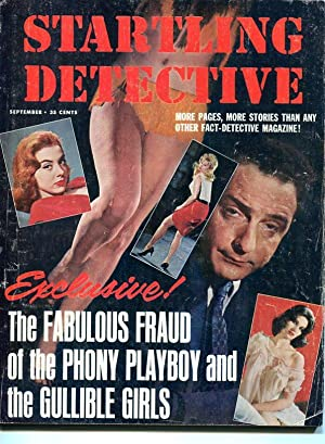 STARTLING DETECTIVE-1965-SEPTEMBER-SPICY COVER G/VG