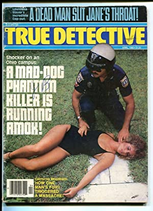 TRUE DETECTIVE-1983-APRIL-MURDERED WOMAN COVER G/VG