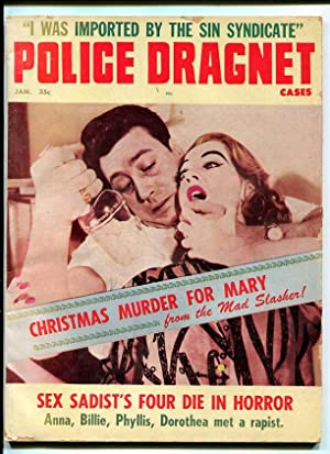 POLICE DRAGNET-1963-JAN-STRANGULATION WITH WEAPON COVER G