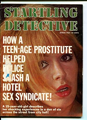 STARTLING DETECTIVE-1968-MARCH-SPICY WOMAN COVER G/VG