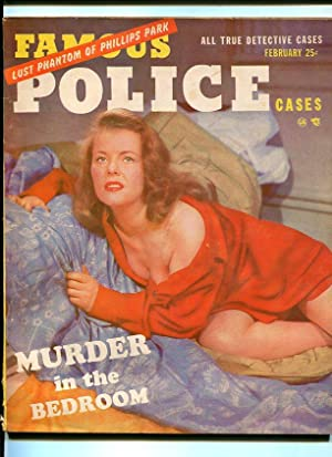 FAMOUS POLICE CASES-1952-FEBRUARY-SPICY COVER G/VG