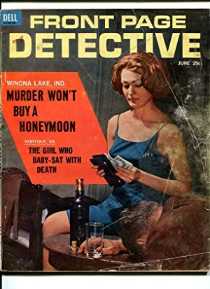 FRONT PAGE DETECTIVE-1963-JUNE-MURDER AND THIEF COVER G/VG