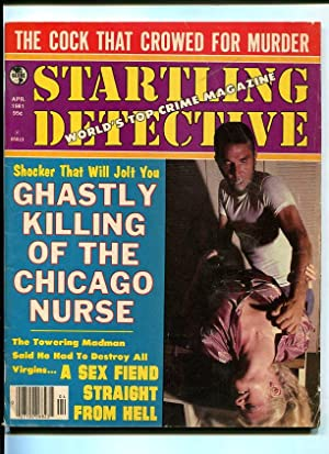 STARTLING DETECTIVE-1981-APRIL-STRANGULATION COVER VG