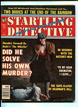 STARTLING DETECTIVE-1981-MARCH-GUN MOLL COVER VG