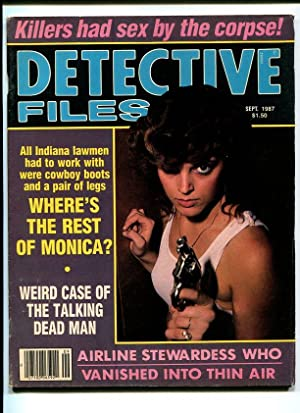 DETECTIVE FILES-1987-SEPTEMBER-GUN MOLL COVER VG