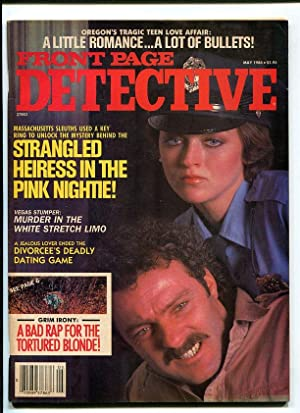FRONT PAGE DETECTIVE-1988-MAY-GOOD GIRL ART COVER FR/G