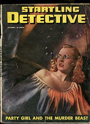 STARTLING DETECTIVE-1949-OCTOBER-GOOD GIRL ART COVER G