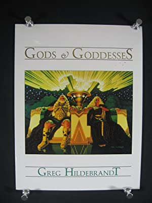 GREG HILDEBRANDT PORTFOLIO: GODS AND GODDESSES-SIGNED