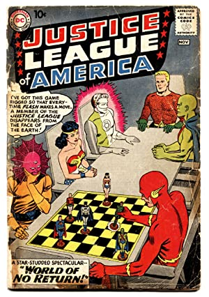 Justice League of America #1 First issue DC Silver-Age Comic Book