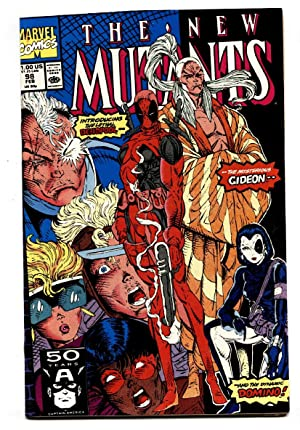 NEW MUTANTS #98 1991- -modern key 1st DEADPOOL hot book movie!