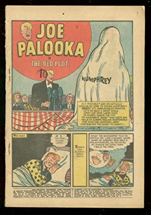 JOE PALOOKA #117 1960-HARVEY COMICS-RED PLOT-BLACK CAT