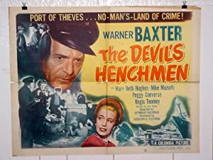 DEVIL'S HENCHMEN-1949-NOIR CRIME-HALF SHEET G