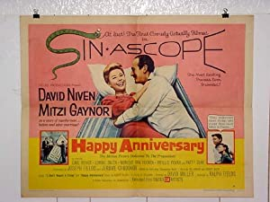HAPPY ANNIVERSARY-1959-PATTY DUKE-HALF SHEET VG/FN