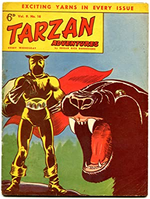 Tarzan Adventures Vol 9 #16 1959- John Celardo- British comic VG/F