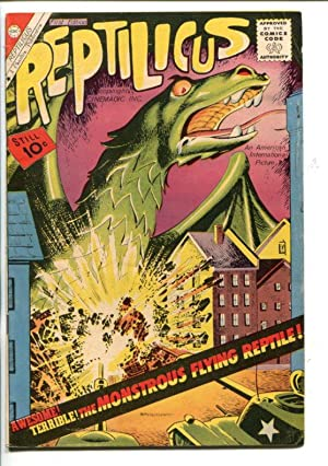 REPTILICUS #1-1961-AMERICAN INT'L MOVIES-SOUTHERN STATES-fn/vf