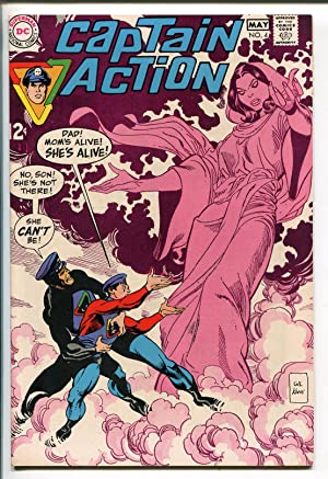 CAPTAIN ACTION #4 1968-DC COMICS-GIL KANE-vf/nm