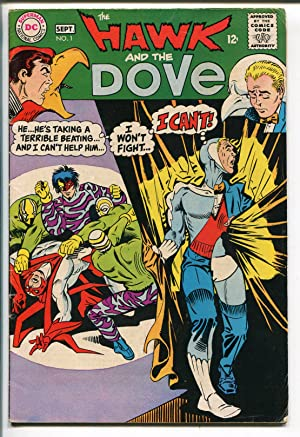 HAWK AND THE DOVE #1 1968-DC COMICS-1ST ISSUE-STEVE DITKO-vg/fn