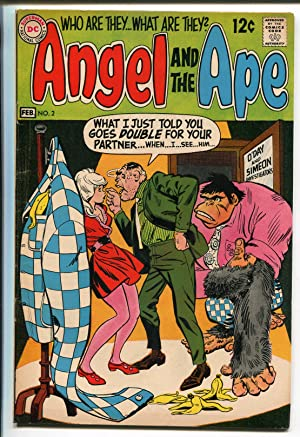 ANGEL AND THE APE #2 1969-DC COMICS-WALLY WOOD ART-vf minus
