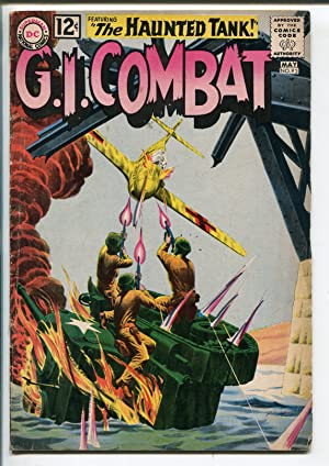 G.I. COMBAT #93 1962-DC COMICS-HAUNTED TANK-RUSS HEATH-GREY TONE-ELUSIVE-vg