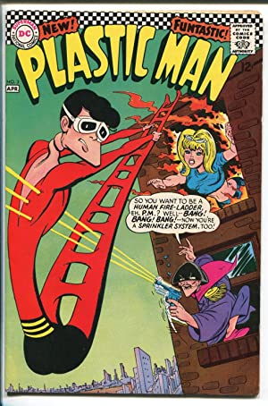 PLASTIC MAN #3 1967-DC COMICS-INCREDIBLE SPINE-fn