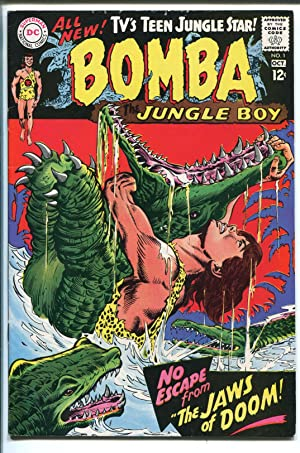 BOMBA THE JUNGLE BOY #1 1967-DC COMICS-1ST ISSUE-INFANTINO ART-fn/vf