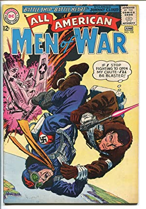 ALL-AMERICAN MEN OF WAR #103-1964-DC-NAVAJO ACE-JOHNNY CLOUD-vf