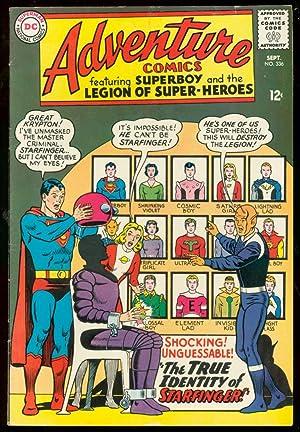 ADVENTURE COMICS #336-SUPERBOY-STARFINGER REVEALED-DC VG/FN