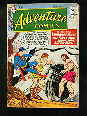 ADVENTURE COMICS #257 1959-SUPERBOY-GREEN ARROW-HERCULES-very good minus VG-